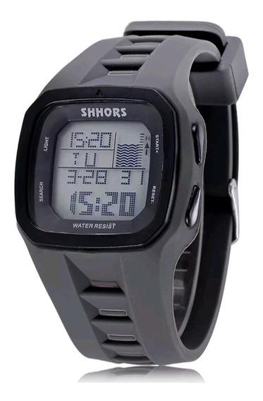 Relógio Digital Masculino Surf Esporte Corrida - Shhors