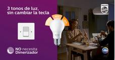 3 Tonos De Luz, Sin Cambiar La Tecla No Necesita Dimerizador