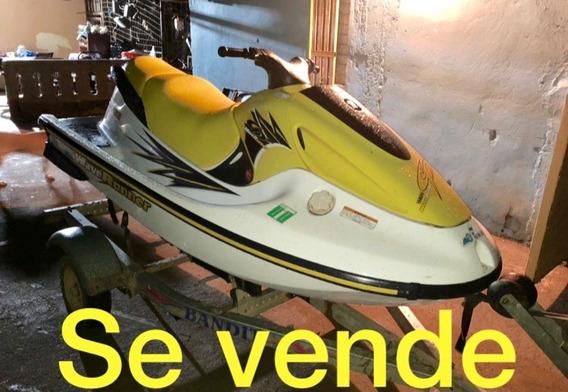 Jet Ski Yamaha Wave Runner Gp 760 Con Trailer