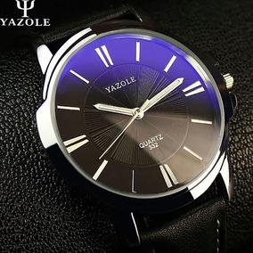 Relógio Masculino Yazole 332 Luxo Original Prova Agua