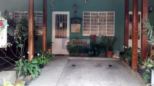 Sobrado Com 2 Dormitórios À Venda, 55 M² Por R$ 300.000 - Jardim Adriana - Guarulhos/sp - Ai9402