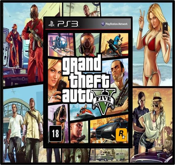 Grand Theft Auto V Gta 5 Ps3 Psn Digital Envio Hoje