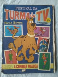 Álbum Hannah Barbera - Turma Da Tv - Saraiva 1977