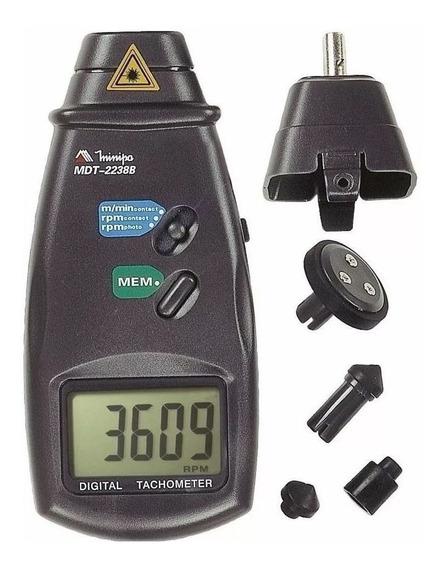 Tacômetro Digital Foto Ou Contato - Minipa Mdt-2238b