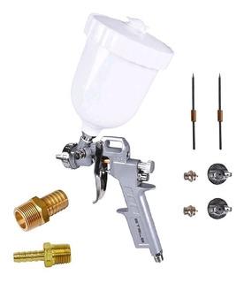 Pistola Pintura Pneumática 600ml 5731455 Stels + 2 Engates