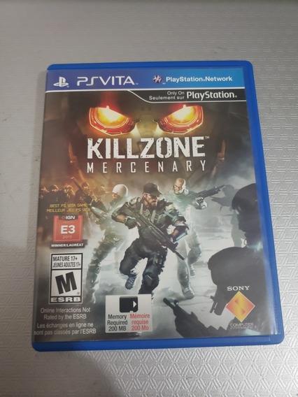 Killzone Mercenary Ps Vita Psvita Midia Fisica