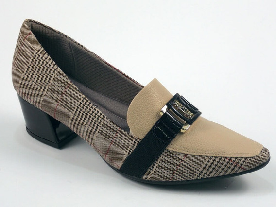 Scarpin Loafer Feminino Piccadilly Maxitherapy - Ref. 744073