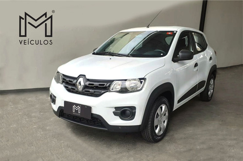 Renault Kwid Zen 1.0 Branco 2019