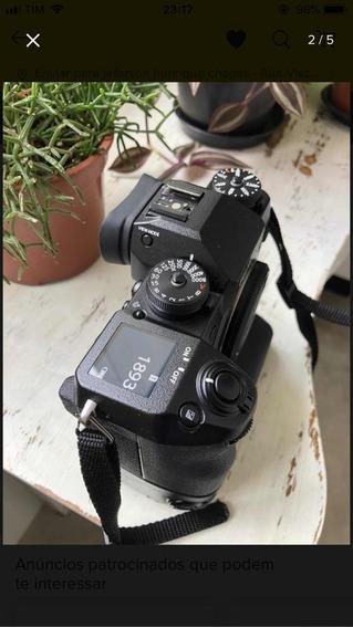 Camera Fujifilm Xh-1 + Hand Grip E 1 Bateria
