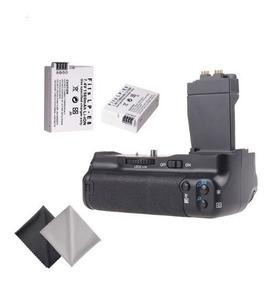 Battery Grip Para Canon T2i T3i T4i T5i +2 Baterias