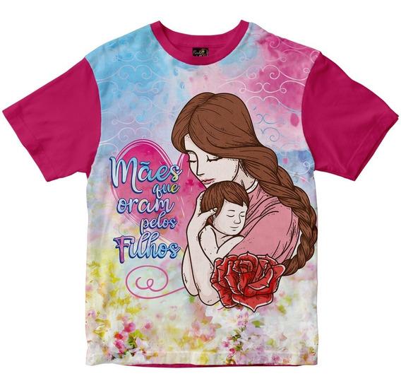Camiseta Mães Que Oram Pelos Filhos - Msu193 Rainha