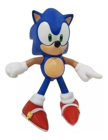 Boneco Sonic Articulado 25cm Action World Top