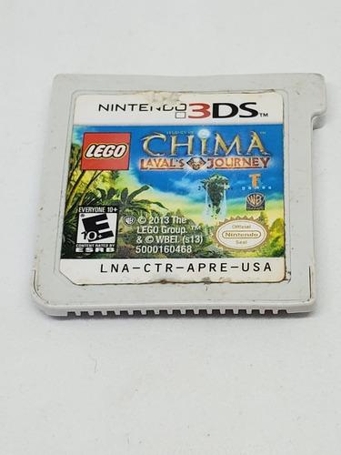 Juego Nintendo 3ds Lego Chima Lavals Journeys Original Fisic