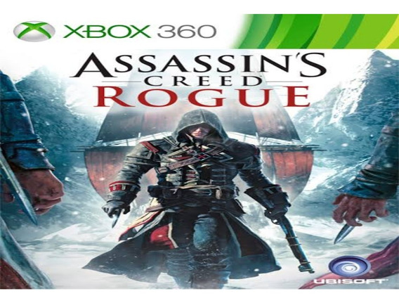 Assassins Creed Rogue Xbox 360 Original Mídia Digital