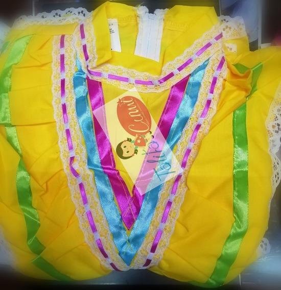 Vestido Regional Jalisco Talla 2-12