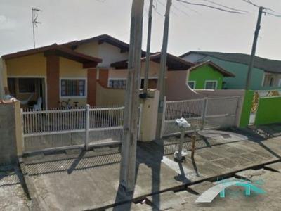 Casa Lado Linha - 2 Dormitórios - Jd. Ribamar - Peruíbe/sp - Ca00172 - 4572613