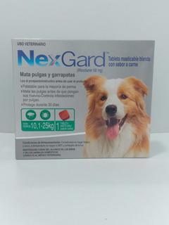 Nexgard Antipulgas Y Garrapatas Para Perros De 10.1 A 25 Kg