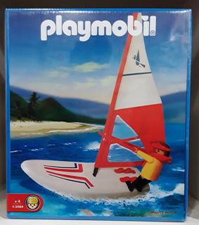 Playmobil 1-3584 Tabla Con Vela Y Motor Windsurf