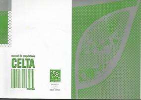 2005 Manual Proprietário Automóvel Chevrolet Celta E Livreto