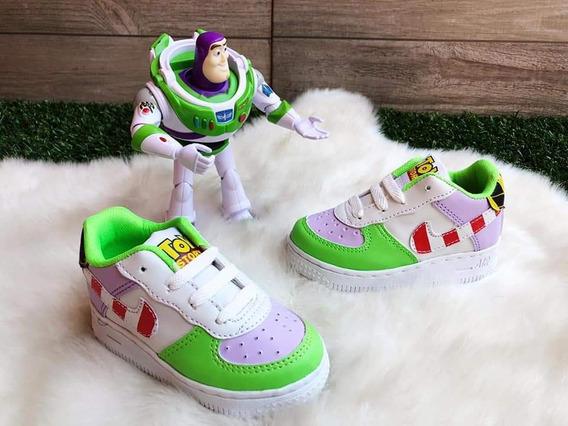 Tenis Nike Force Toy Story Buzz Lightyear