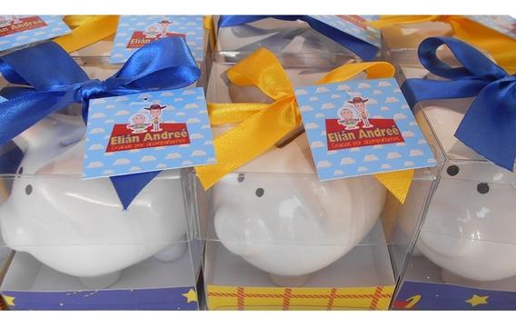 Alcancias Cochinito Bautizo Cumpleaños Toy Story Tematico