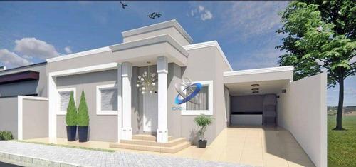 Imagem 1 de 2 de Casa Com 3 Dormitórios À Venda, 107 M² Por R$ 350.000,00 - Residencial Esperança - Caçapava/sp - Ca0997