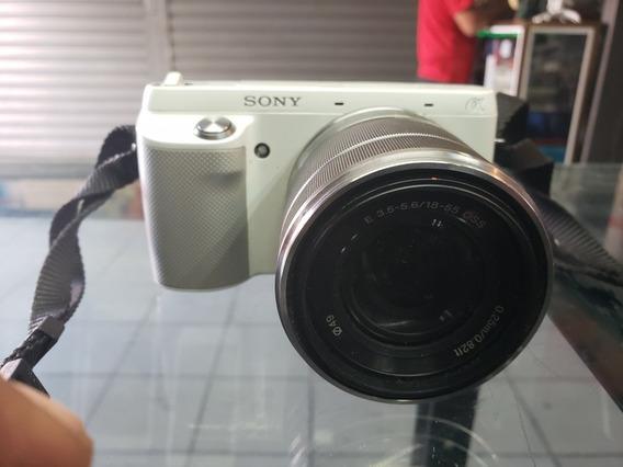 100% Operativcamara Profesional Sony Nex -f3 Con Lente 1855