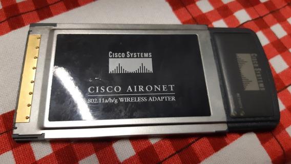 Placa Wifi Cisco Aironet Cb21ag Pcmcia