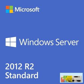 Selo Holográfico Windows Server 2012 R2 Standard 05cal + Nfe