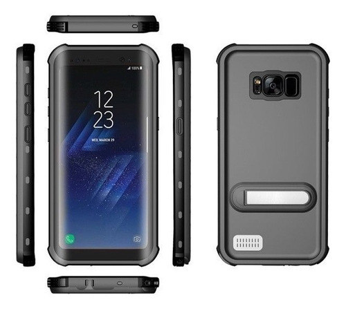 Protector Carcasa Sumergible Para Samsung S8 Plus Red Pepper