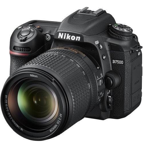 Câmera Nikon D7500 Dslr + Lente 18-140mm 20.9mp 4k Uhd Video