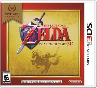 Zelda Ocarina Of Time - 3ds - Fisico - Megagames