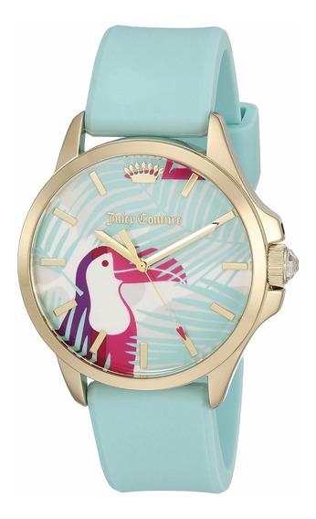 Reloj Juicy Couture Jetsetter Silicón Turquesa Mujer 1901426