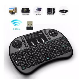 Mini Teclado Smart Tv Box Touch Pad Universal Usb Key Game