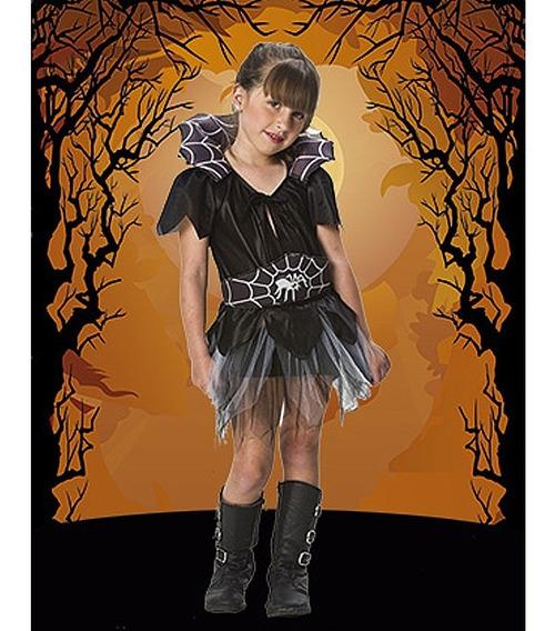 Disfraz De Arañita Nena Halloween Talle 1, 2, 3