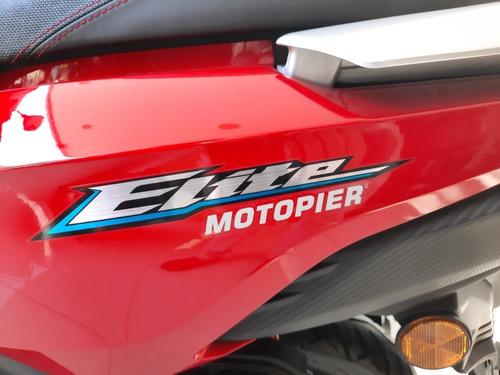 Honda Elite 2021 0km Precio + Cuotas C/tarjetas Motopier