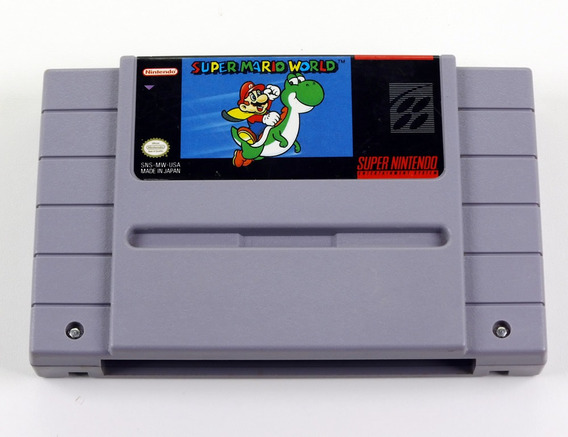 Super Mario World Original Super Nintendo - Snes