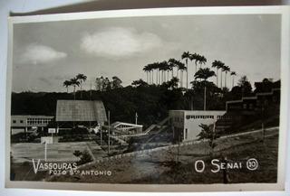 Vassouras Cartão Postal Antigo Senai