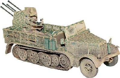 Sd.kfz 7/1 Krausse-maffei Half Track & Flak G Corgi Us60005