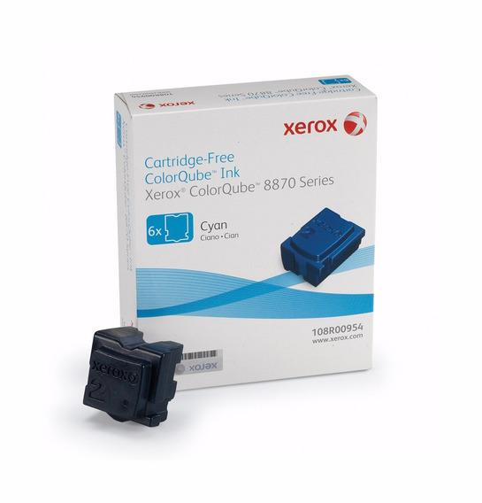 Tinta Nuevo Xerox Colorqube 8870 Cyan 108r958 Original Xdv