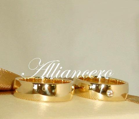 Aliança Ouro 18k 12gr - Frete Gratis - Casamento Alliancero