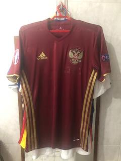Camisa adidas Russia Home 2016 - Tamanho P