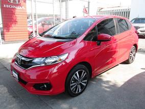 Honda Fit 1.5 Hit At Cvt 2018 Rojo