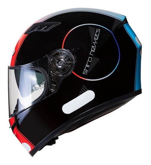 Capacete Moto Motociclista Com Oculos Interno Sol Shiro Sh 600 Robotic Black