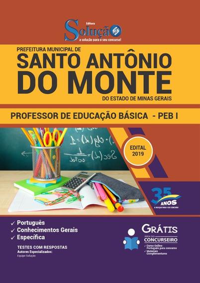 Apostila Santo Antônio Do Monte Mg 2019 Professor Ed Básica