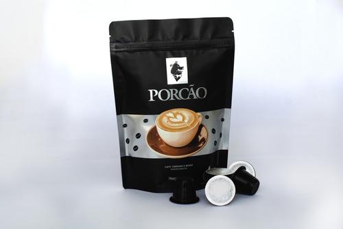Kit 100 Cápsulas Café Suave Compatíveis Nespresso - Porcão