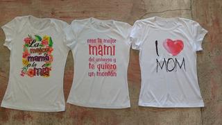 Playera Dia De Las Madres Personalizada