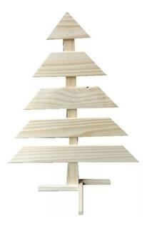 Arbol De Navidad En Madera De Pino