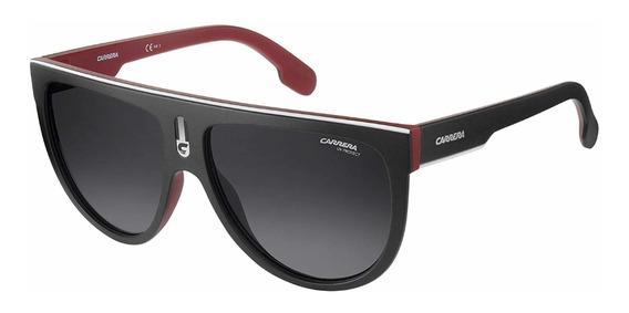 Lentes Carrera Flagtop Gafas De Sol Para Adultos Negro/rojo