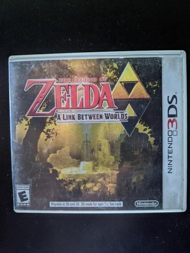 Juego Zelda A Link Betweem Worlds Para Nintendo 3ds